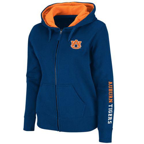 Auburn Tigers Women's Full Zip Titan Fleece Hooded Sweatshirt by Colosseum