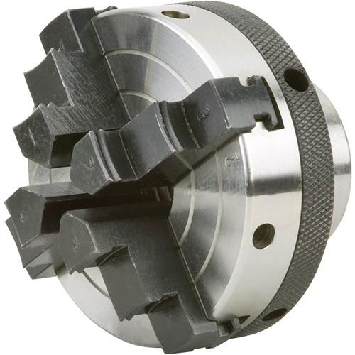 """Grizzly H7605 3"""" 4 Jaw Chuck 1"""" x 8 TPI"""