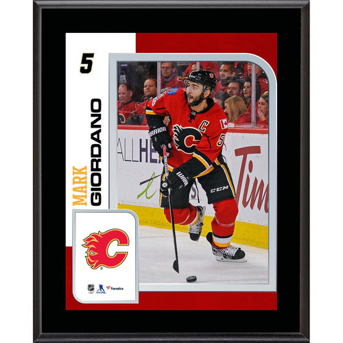 "Mark Giordano Calgary Flames 10.5"" x 13"" Sublimated Player Plaque - No Size"