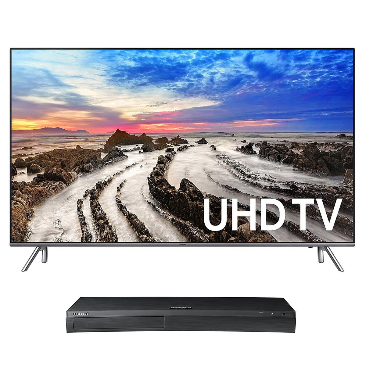 "Samsung UN55MU8000 55"" 4K UHD HDR Smart TV with UBD-M9500..."
