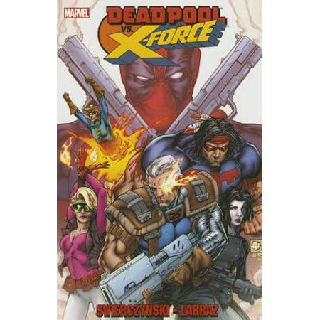 Cable Vs Deadpool (Deadpool vs. X-Force)