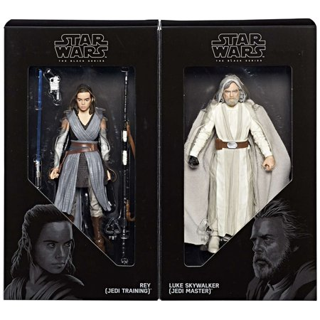 Star Wars Black Series Rey & Luke Skywalker Action Figure (Star Wars Toys At Toys R Us)