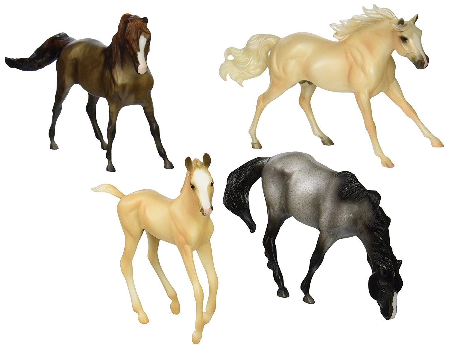 Breyer 1:12 Classics Model Horse Cloud's Encore 4-Piece Gift Set by Breyer Animal Creations