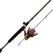 """Quantum Hellcat Spin Rod and Reel Combo, HC30661M, 6'6"""""""