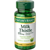 Nature's Bounty Milk Thistle 175mg, 100 Capsules