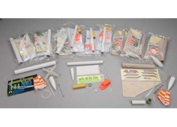 Estes AVG Rocket Bulk Pack (Pack of 12) by Estes