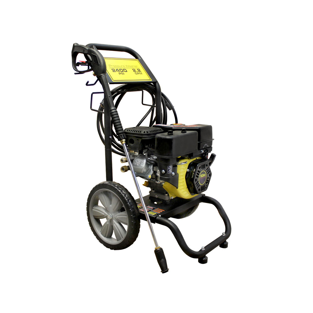 2,400 PSI Gas Cold Water Power Pressure Washer 2.2 GPM 3....