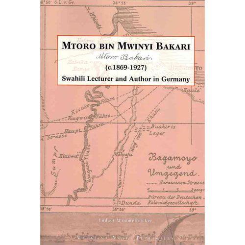 Mtoro Bin Mwinyi Bakari. Swahili Lecturer and Author in Germany
