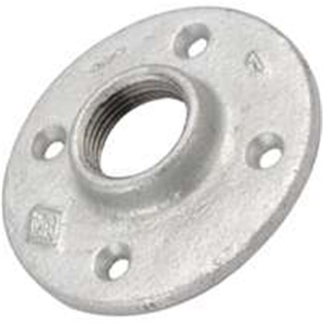World Wide Sourcing 27-11-4G Galvanized Malleable Floor Flange - 1.25 In. - image 1 de 1