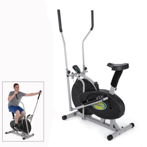 Elliptical Bike 2 IN 1 Cross Trainer Exercise Fitness Mac...