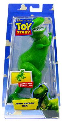 Toy Story Rex Action Figure [Jump Attack] by