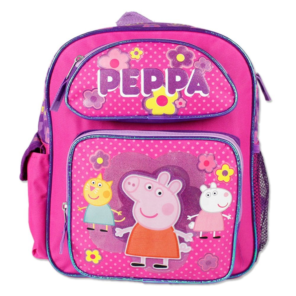 Small Backpack - Peppa Pig - Pink School Bag New 107448