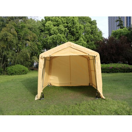 Outdoor Car Storage >> Outdoor 10x10x8FT Carport Canopy Tent Car Storage Shelter