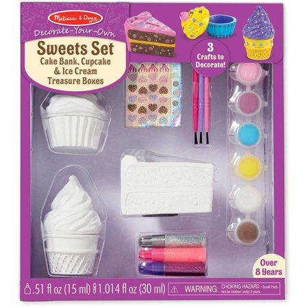 Melissa and Doug Decorate Your Own Sweets Set