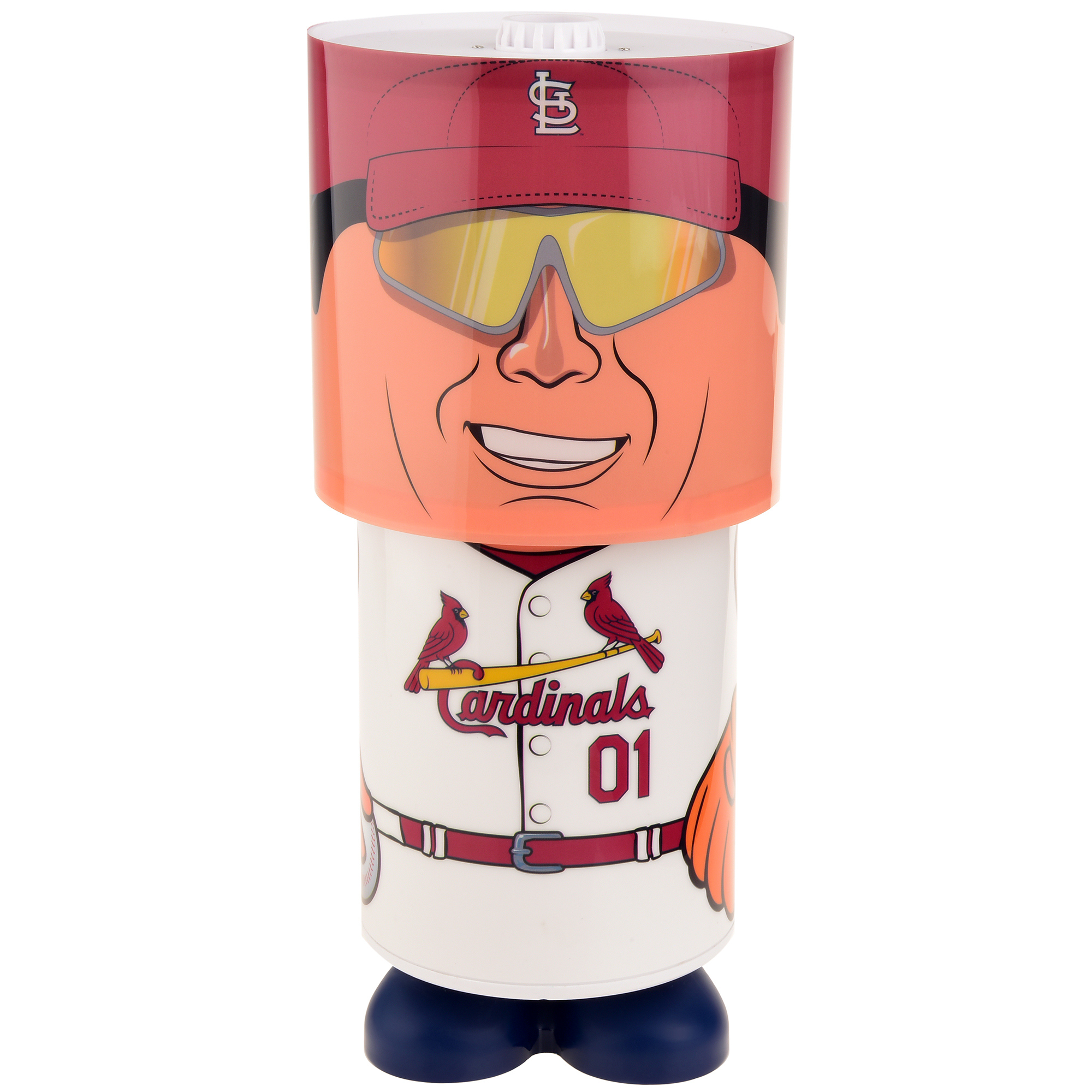 St. Louis Cardinals Projector Desk Lamp - No Size