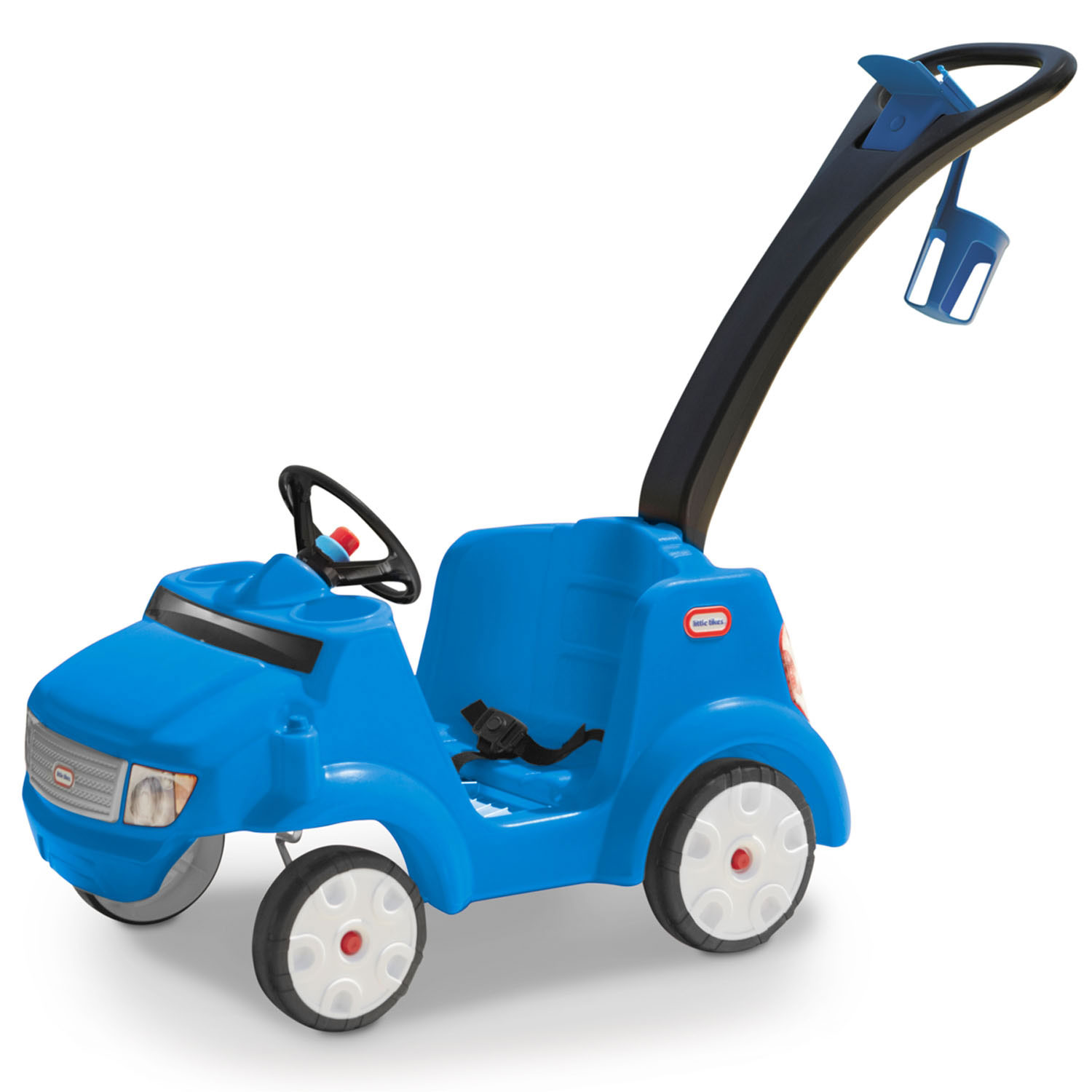 Little Tikes 2-in-1 Quiet Drive Buggy, with removable foot-board, Blue by Little Tikes