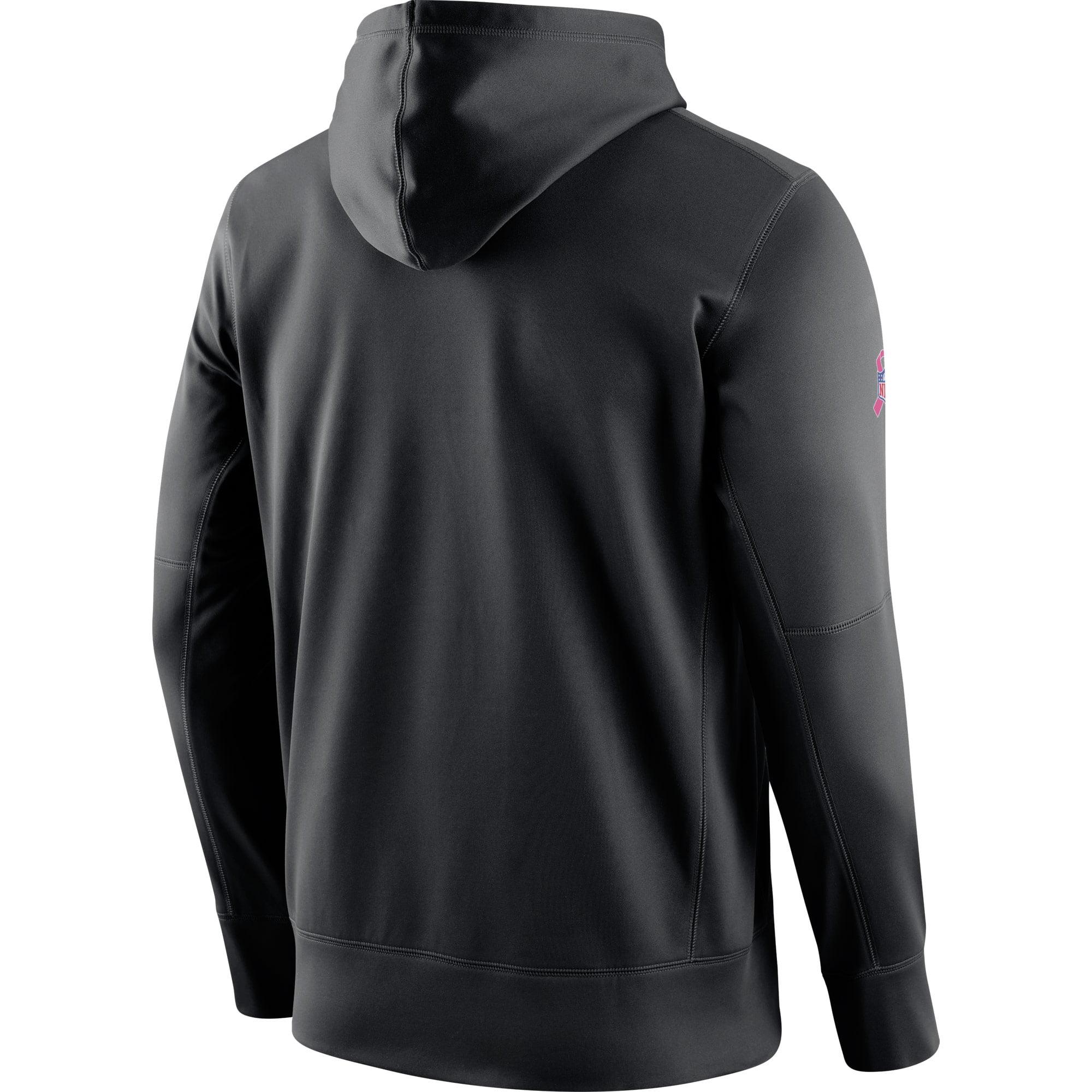 d595d3a0f45 Cincinnati Bengals Nike Breast Cancer Awareness Circuit Performance  Pullover Hoodie - Black - Walmart.com