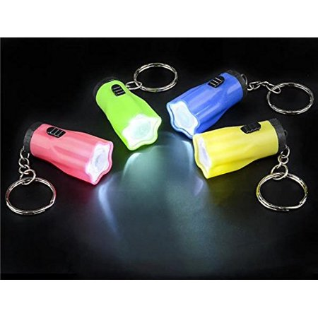100 STAR MINI FLASHLIGHT KEYCHAINS WHOLESALE by, WHOLESALE LOT OF 100 BRIGHT LED FLASHLIGHTS By DISCOUNT PARTY AND NOVELTY for $<!---->