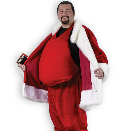 Santa Belly Costume Accessory - Cat Santa Costume