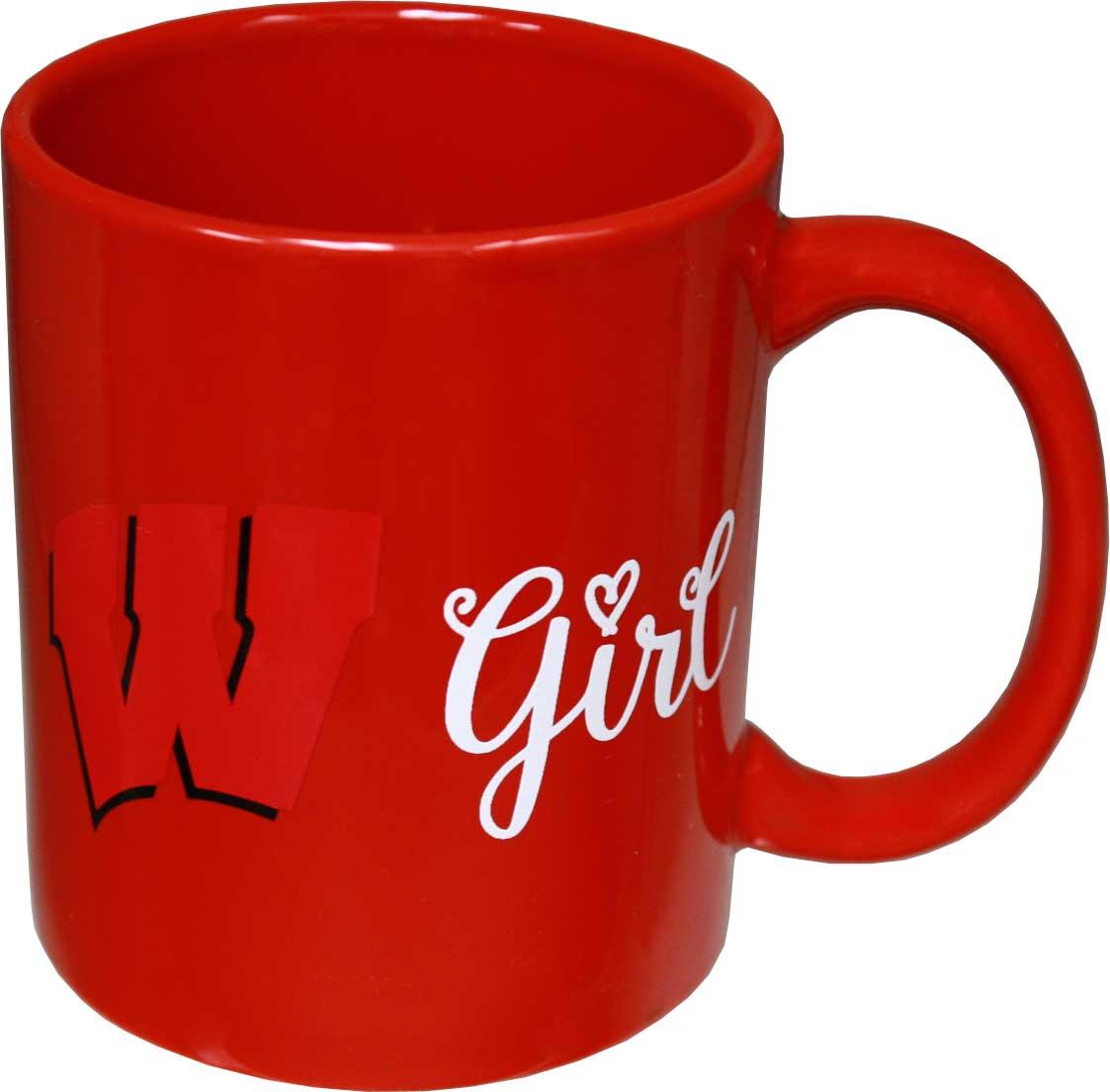 Wisconsin Badgers Girl 11oz Mug