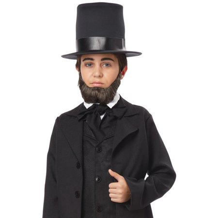Halloween Makeup Ideas For Guys With Beards (Boys Honest Abe Halloween)