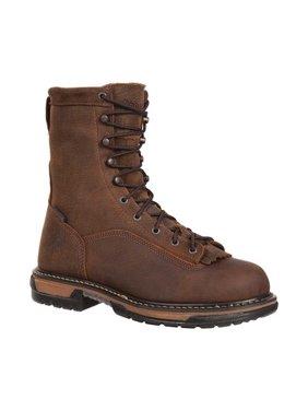 Men's Rocky IronClad Steel Toe Waterproof Work Boot 6698