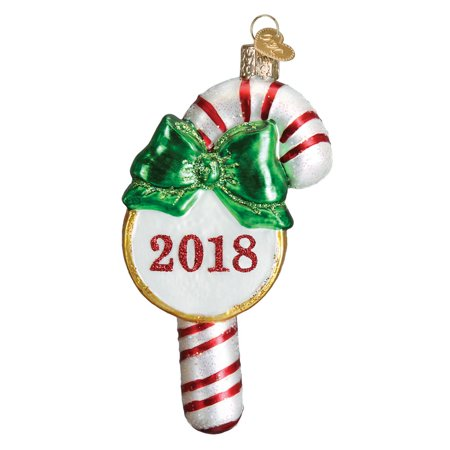 Old World Christmas 36245 2018 Candy Cane Ornament