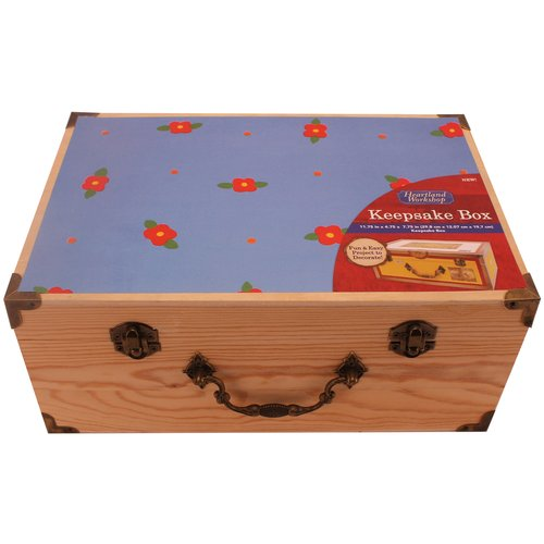 Heartland Workshop Wooden Keepsake Box by Horizon Group USA