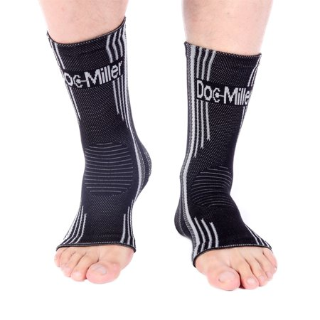 4a1efe525f Doc Miller Premium Ankle Brace Compression Support Sleeve Socks for Swollen Foot  Plantar Fasciitis Achilles Tendonitis
