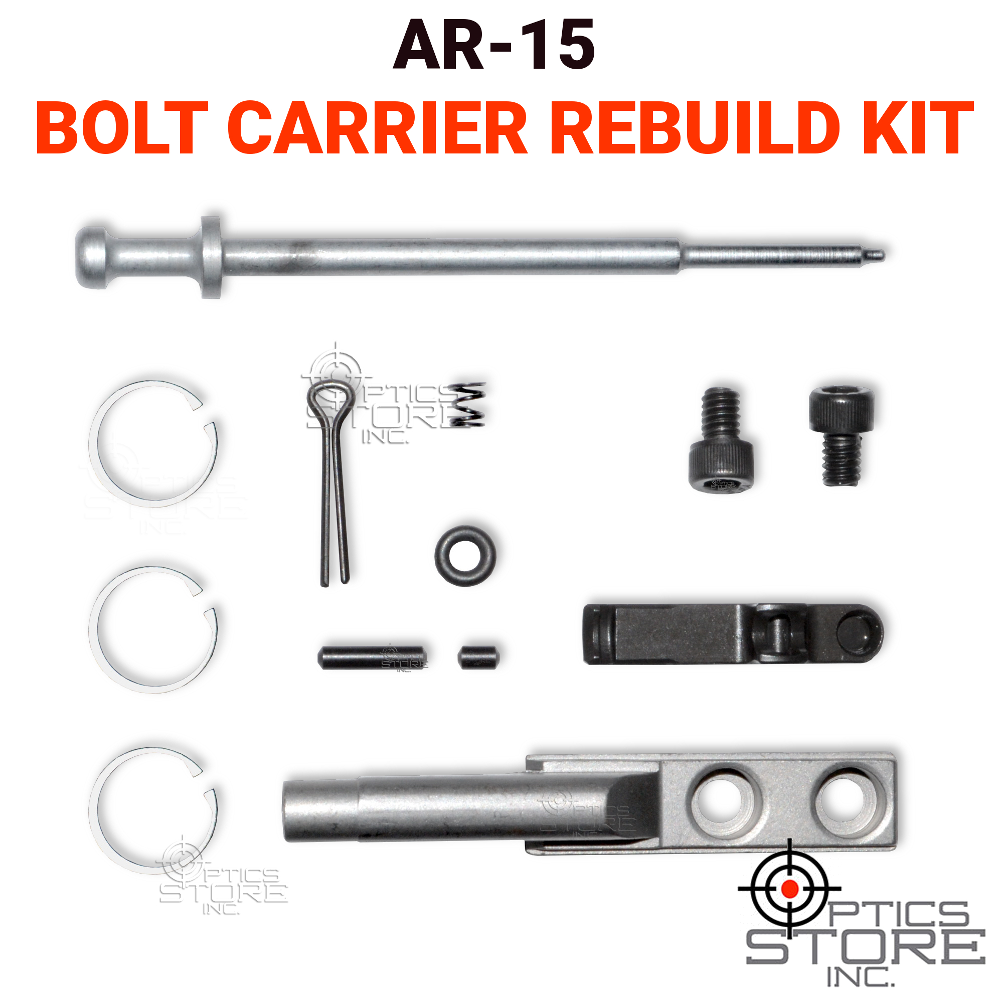 Sniper AR-15 Bolt Carrier Rebuild Kit for .223/5.56 AR15/M4