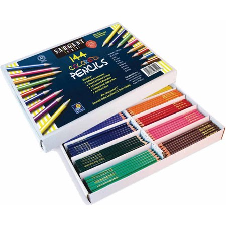 Sargent Art Best Buy Colored Pencils, Pack of 144