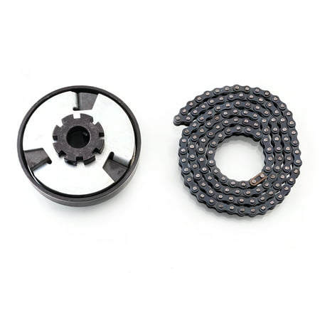 Zimtown Mini-Bike Go Kart Centrifugal Clutch 3/4 Inch 12T #35 4feet W/Chain Max Torque