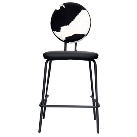 ACEssentials Cow Print Backed Barstool ()