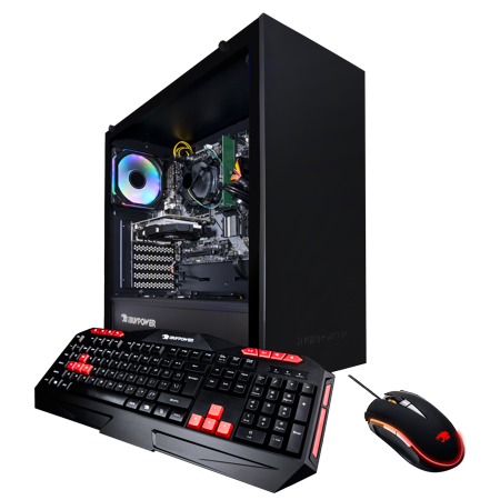 iBUYPOWER WA563GT3 - Gaming Desktop PC - Ryzen 3 3200G- 8GB DDR4 2666Memory - NVIDIA GeForce GT 1030 - 1TB HDD - Wi-Fi - RGB - Windows 10 Home 64-Bit