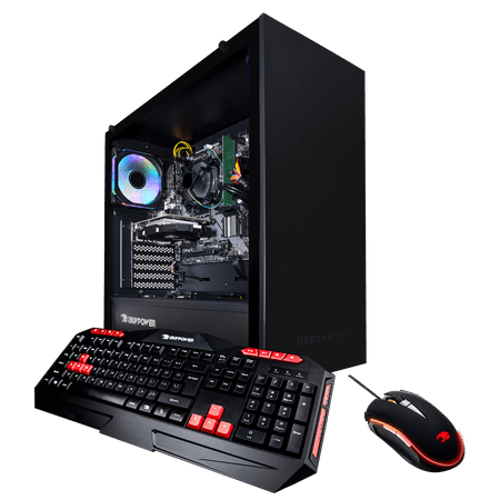 iBUYPOWER WA563GT3 - Gaming Desktop PC - Ryzen 3 3200G- 8GB Memory - NVIDIA GeForce GT 1030 - 1TB HDD - Wi-Fi - RGB - Windows 10 Home 64-Bit