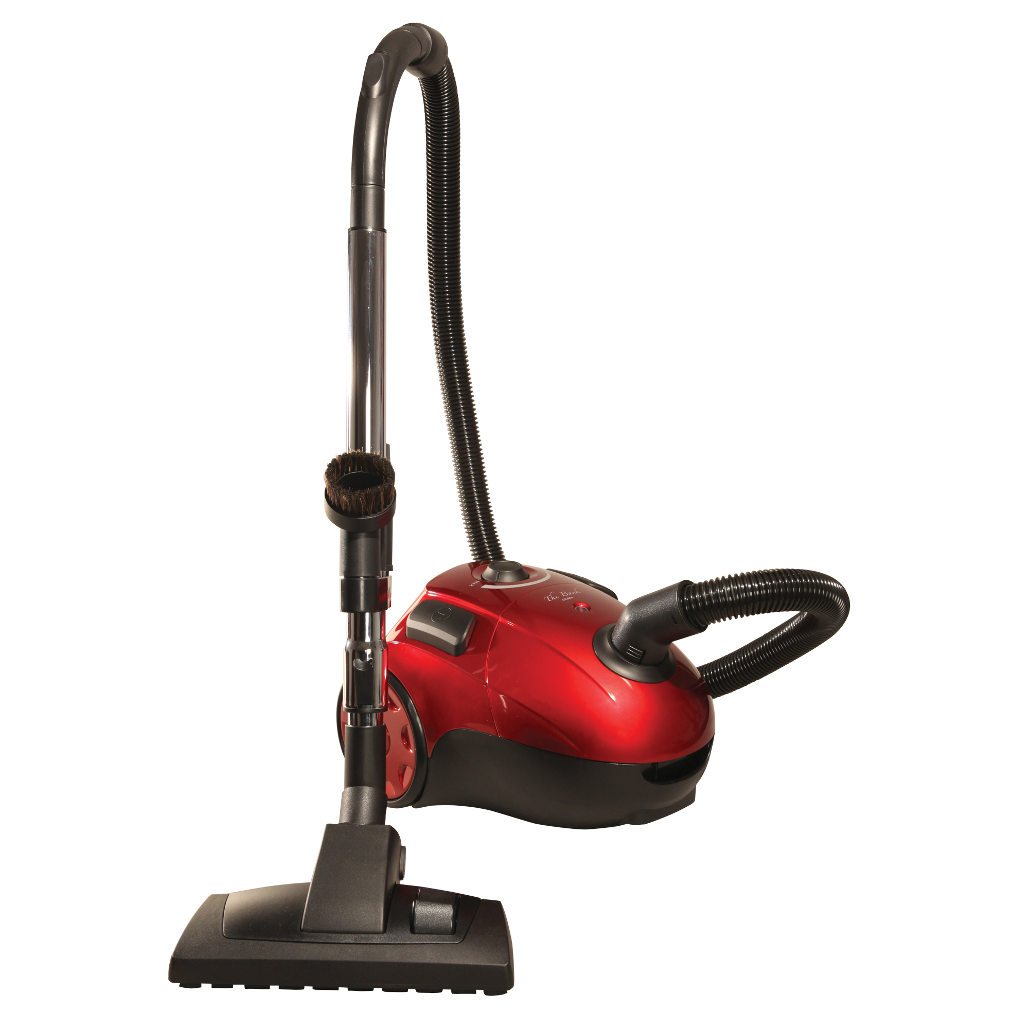 The Bank ROBBER Powerful Compact Canister Vacuum with 20' Retractable Cord, Rubber Wheels