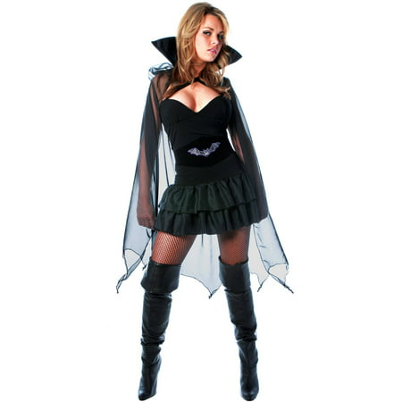Into The Night Women's Halloween Costume, One Size, XL (18-20)