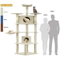 Cat Tree Kitty Tree Cat Condo Cat House Cat Tower Large Cats