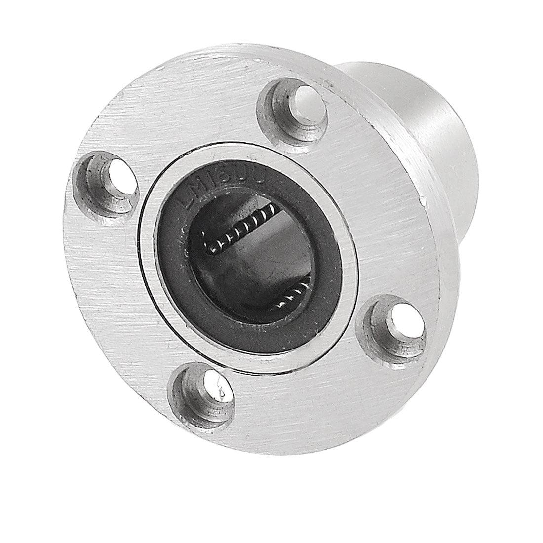 LMF16UU 16mm Inner Diameter 4 Bolt Flange Linear Motion Bushing Ball Bearing