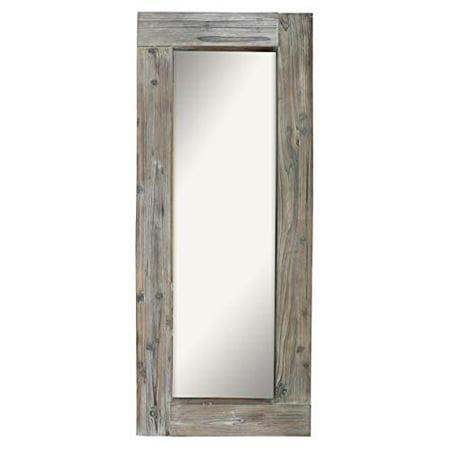 Barnyard Designs Long Decorative Wall Mirror, Rustic ...