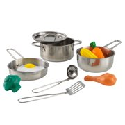 KidKraft Deluxe Cookware Set with Food