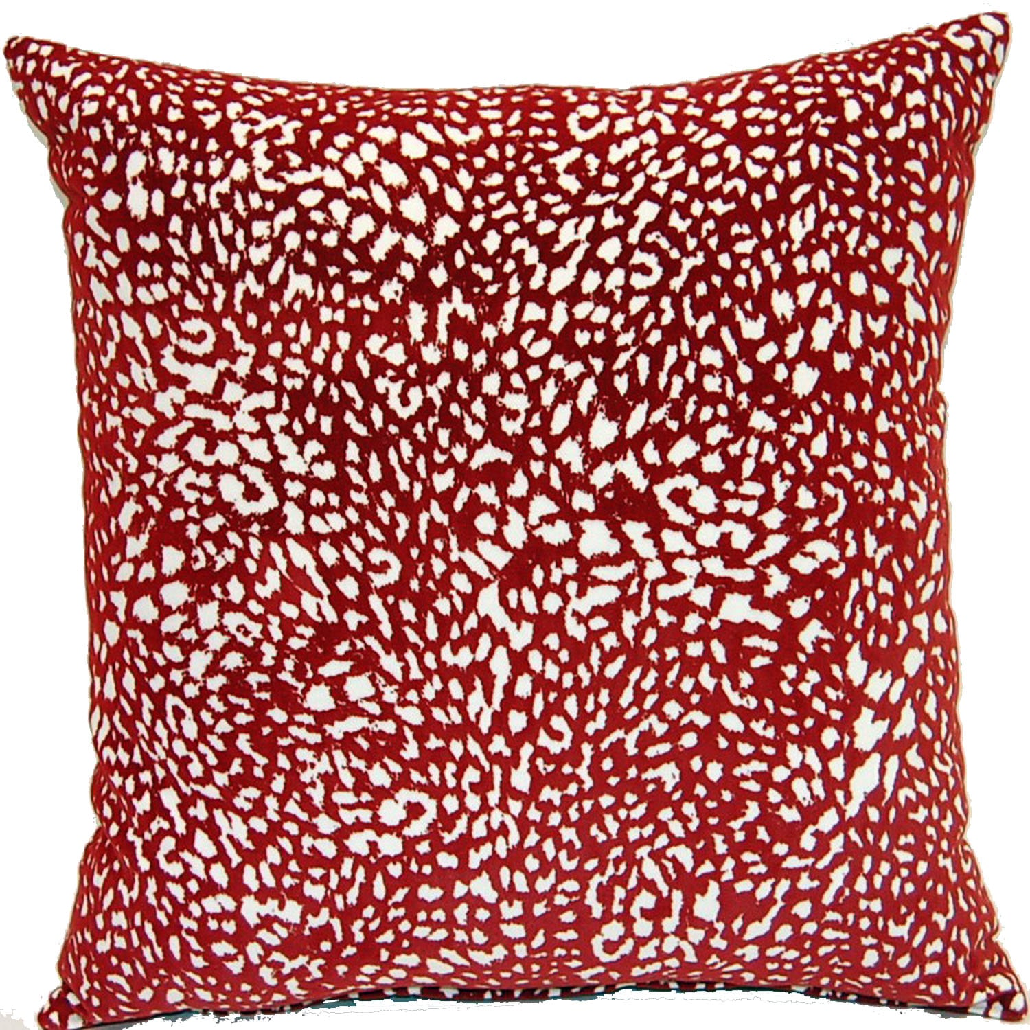Fox Hill Trading Jumanji Red 17-inch Pillows (Set of 2)