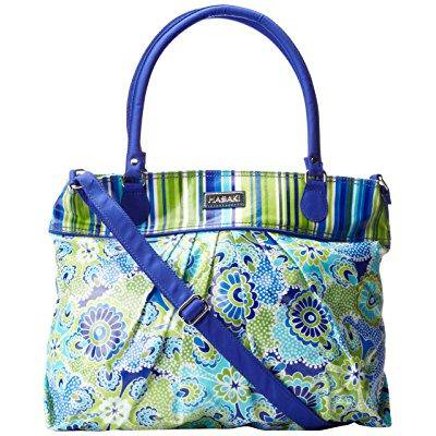 hadaki coated cool travel tote, jazz cobalt, one size