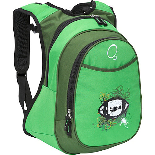 Obersee Kids Pre-School Football Backpack with Integrated Lunch Cooler
