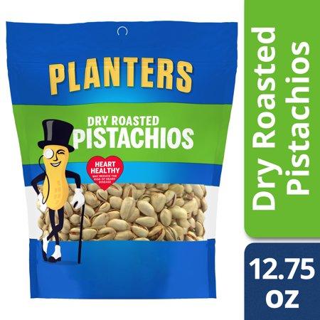 Planters Dry Roasted Pistachios, 12.75 oz Bag