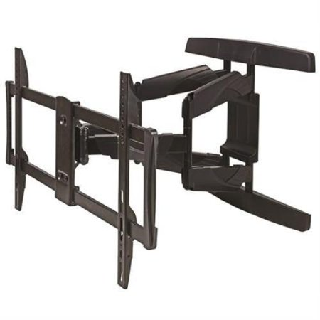 Pro Signal Articulating Wall Mount for Flat Panel Televisions 37  ~ 70  DescriptionsPro Signal Articulating Wall Mount for Flat Panel Televisions 37  ~ 70 Articulating Wall Mount for Flat Televisions to 70 Ultra rugged bracket is designed for flat panel LED, LCD and Plasma televisions from 37~70 . Wall bracket will straddle studs up to 24  apart and dual arm extension provides outstanding control and stability, even with loads up to 100 lbs. Attractive appearance, solid build and convenient cable management make this a strong contender, at even twice the price.