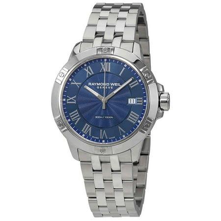 Raymond Weil Tango Blue Dial Men's Watch 8160-ST-00508
