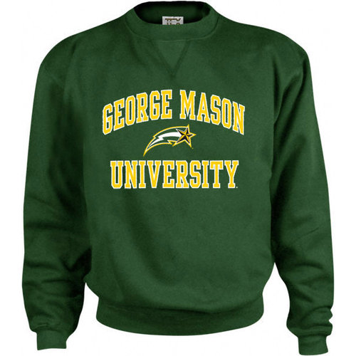 NCAA - George Mason Patriots Kids/Youth Perennial Crewneck Sweatshirt
