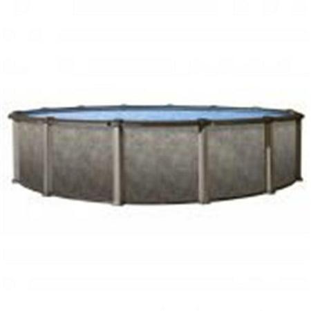 54' Aluminum Pool (24 ft. Riviera Round 54 in. Deep Pool)