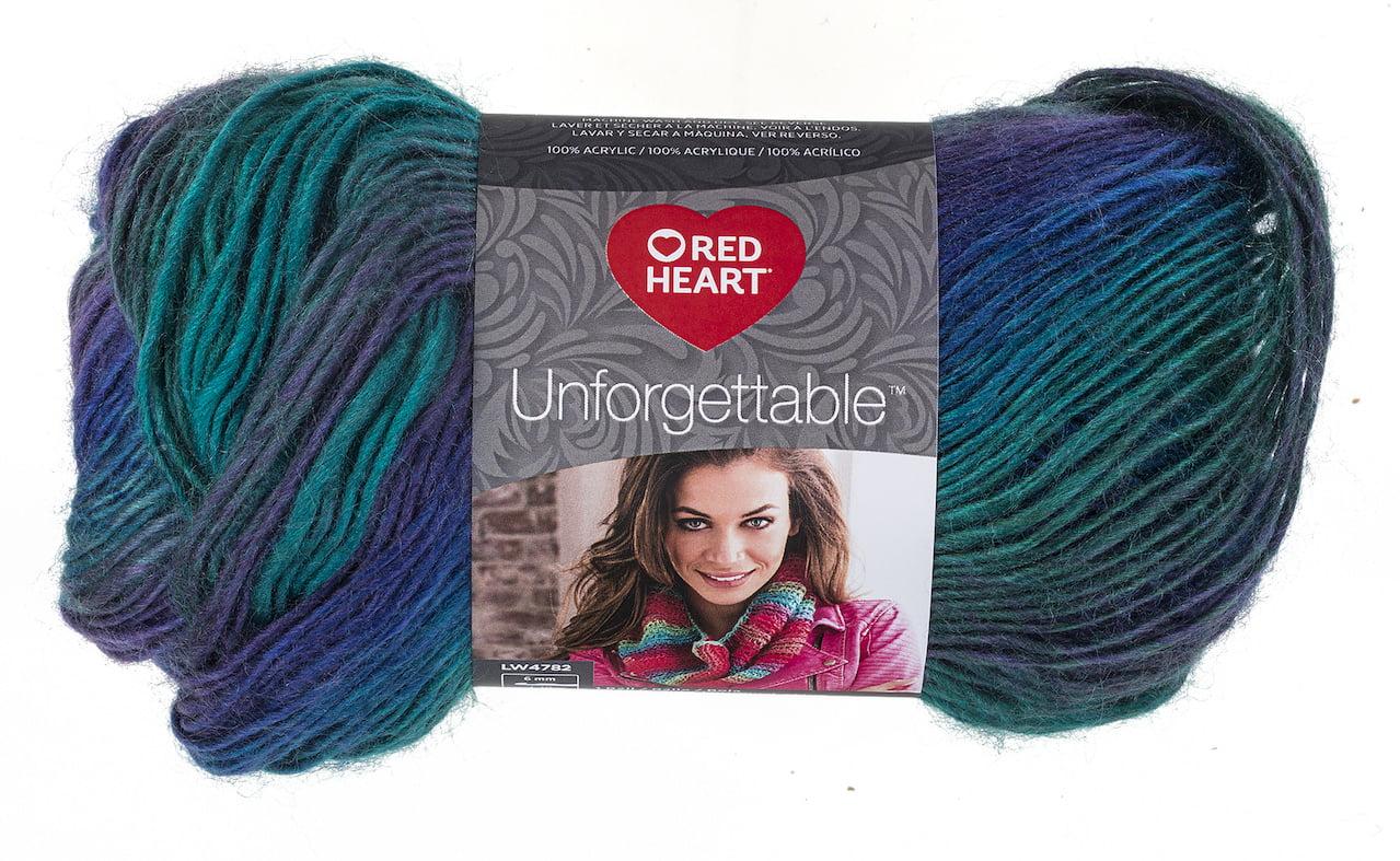 Red Heart Boutique Unforgettable Yarn 1 Each Walmart Com